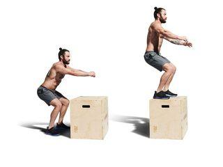 saltos de cajón para quemar grasa