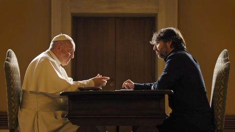 Salvados. El Papa Francisco y Jordi Évole