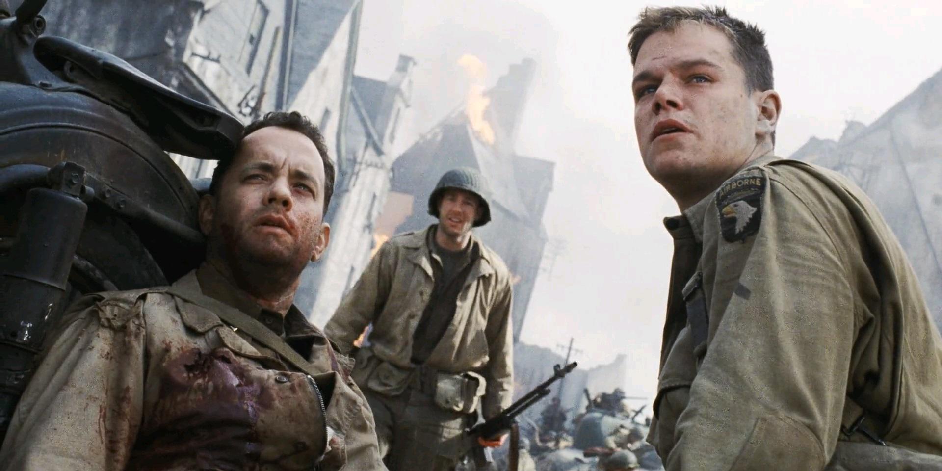 Resultado de imagen para tom hanks rescatando al soldado ryan