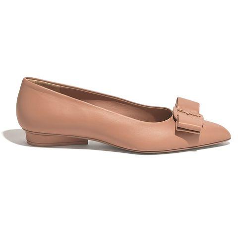 フェラガモ 靴 パンプス フラットシューズ SALVATORE FERRAGAMO