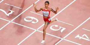 Salwa Eid Naser, 400m, Mundial de Doha 2019