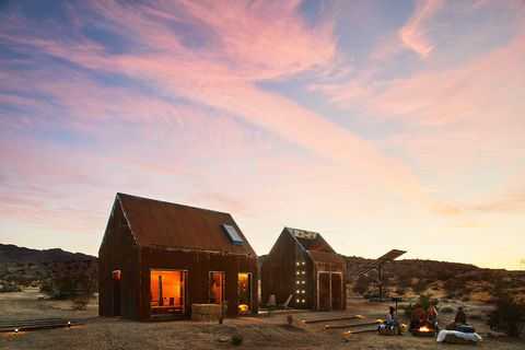 Sky, Cloud, House, Home, Evening, Sunset, Mountain, Rural area, Barn, Landscape,
