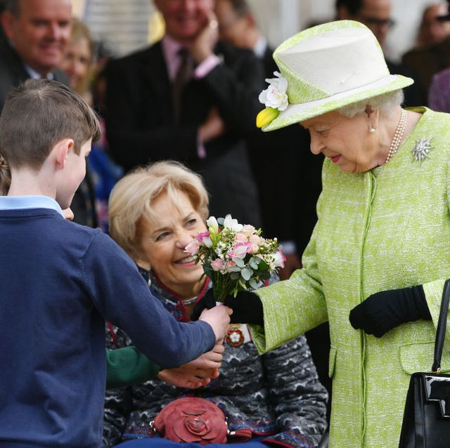 Queen Elizabeth II visits Somerset