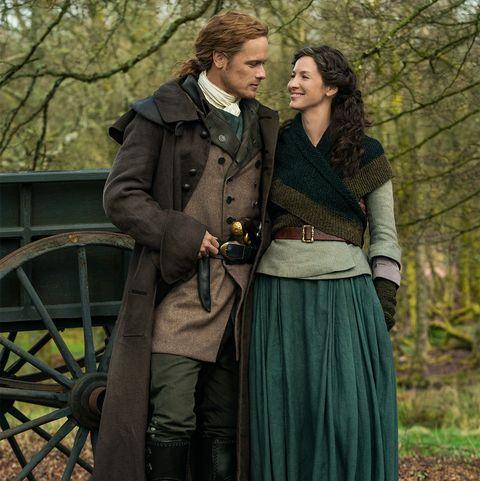 Dating outlander caitriona sam and Outlander: Who