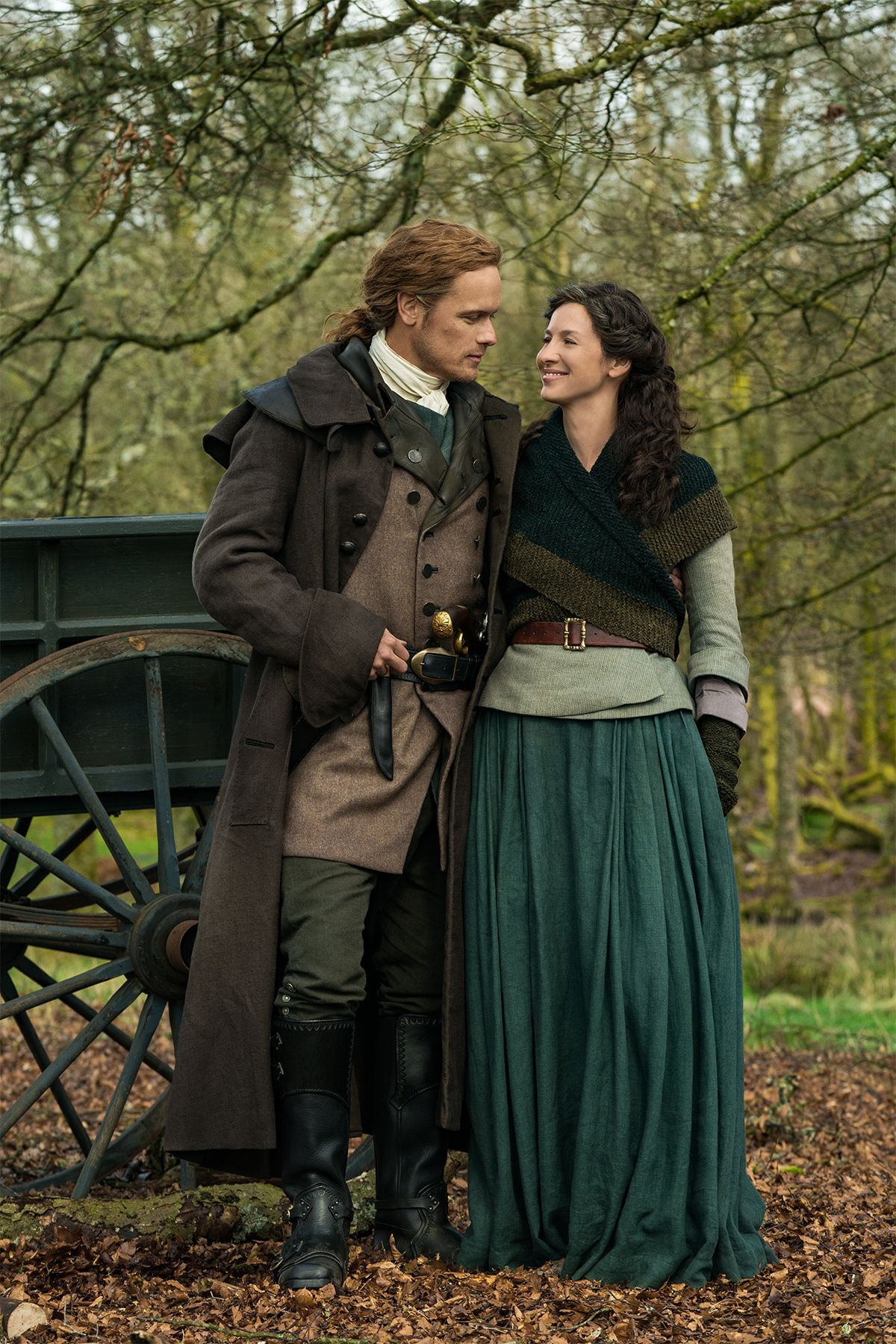 Outlander Stars Sam Heughan and Caitriona Balfe Preview What's to Come in Season 5