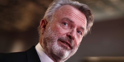 sydney, australia   december 04 sam neill attends the 2019 aacta awards presented by foxtel at the star on december 04, 2019 in sydney, australia photo by ryan piersegetty images for afi