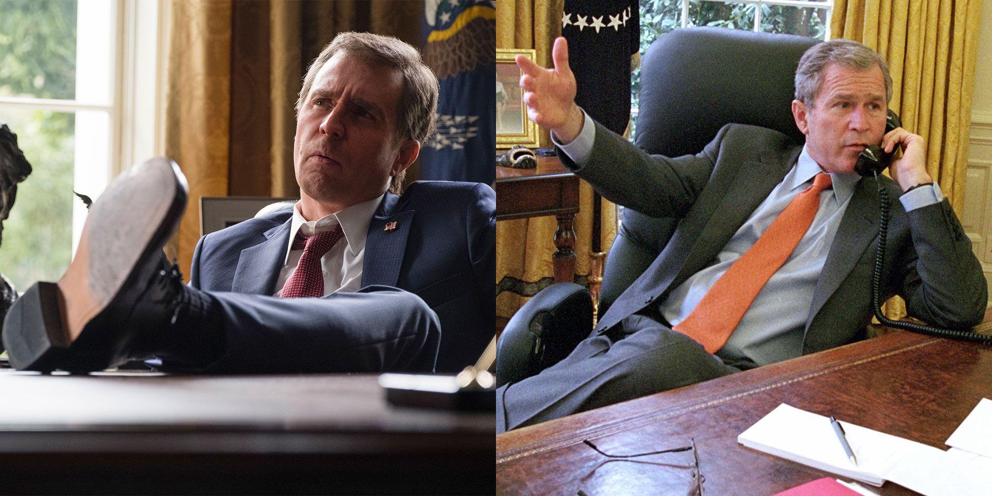 Sam Rockwell as George W Bush
