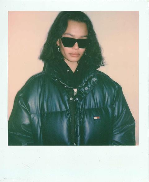 Sam Swan Model Polaroid