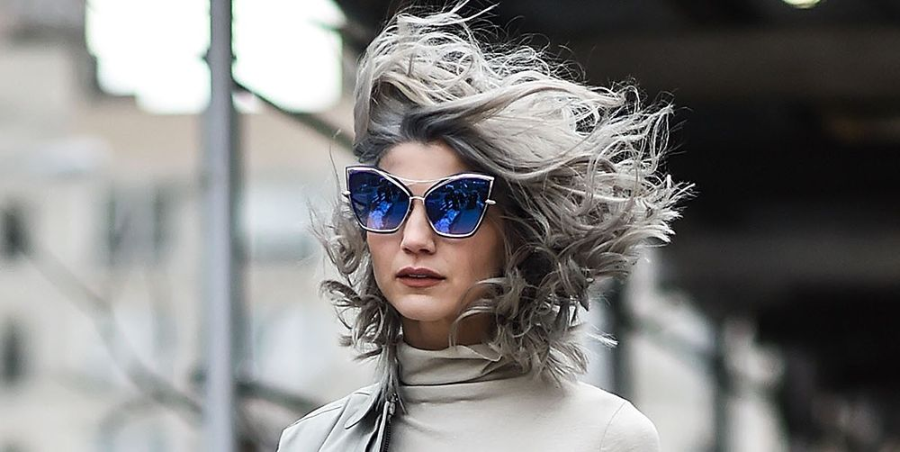 Grey Hair Tips How To Make The Most Of Grey Hair During