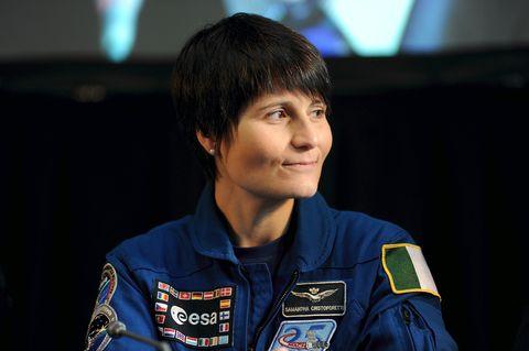 Samantha Cristoforetti lascia l'Aeronautica militare