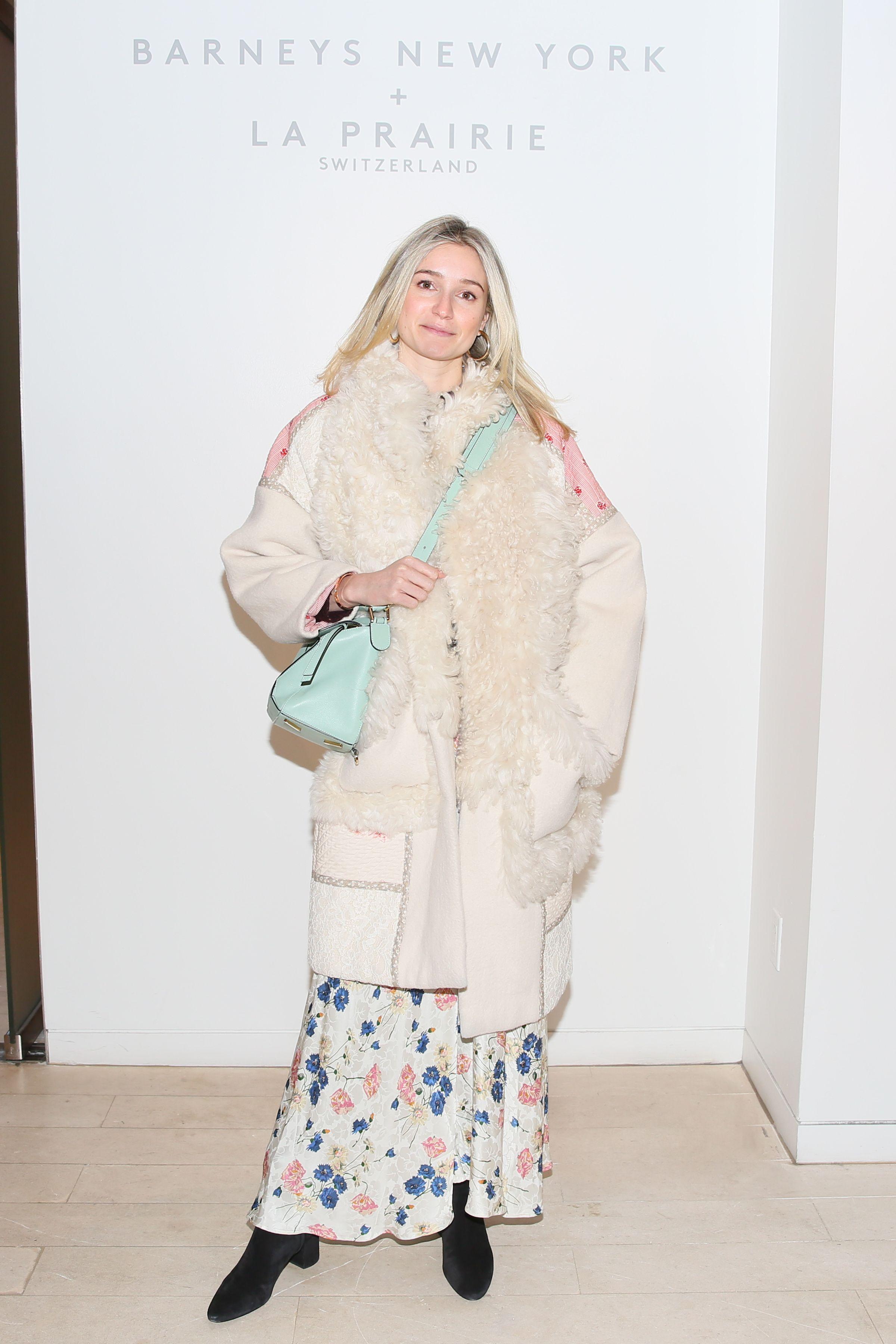 Samantha Sheinson Samantha Sheinson attends Barneys New York Madison Avenue to celebrate the launch of La Prairie on February 28.