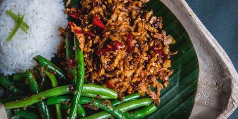 wat te eten sambal goreng tempé