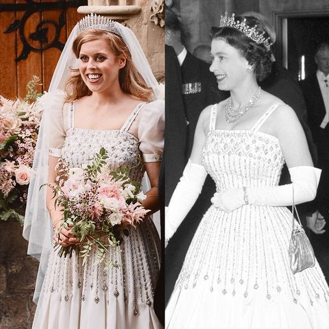 Princess Beatrice S Wedding Dress Details Designer More
