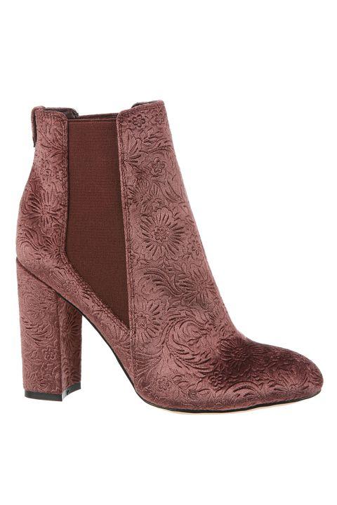 Footwear, Boot, Brown, Shoe, Beige, High heels, Leather, Suede, Fawn,