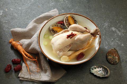 Samgyetang, Chicken Soup with Ginseng