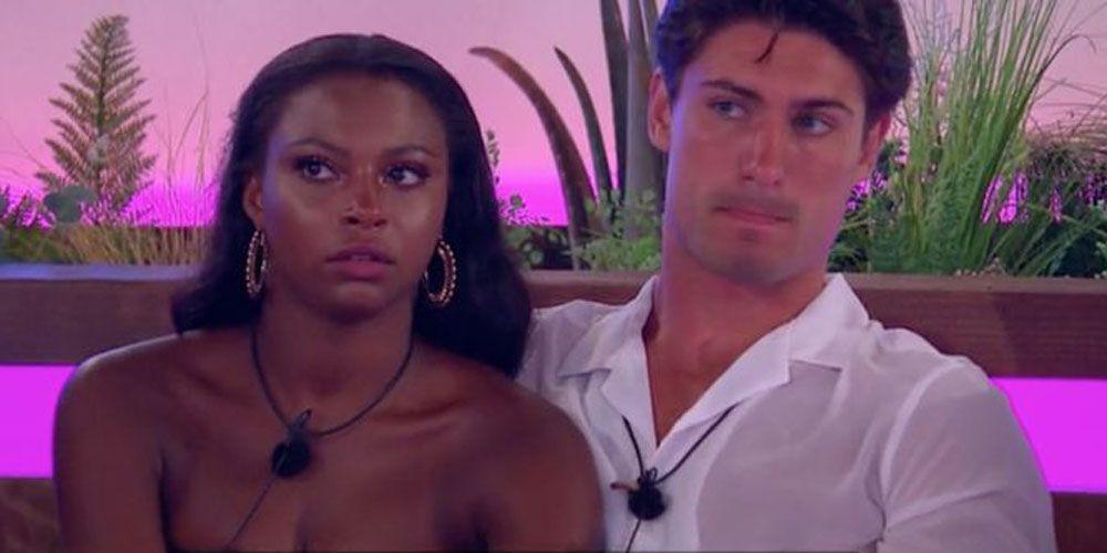 Samira and Frankie love island