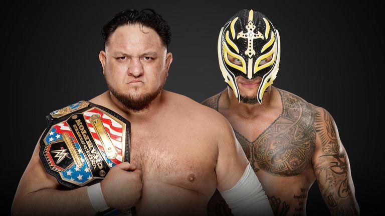 Samoa Joe (c) vs Rey Mysterio