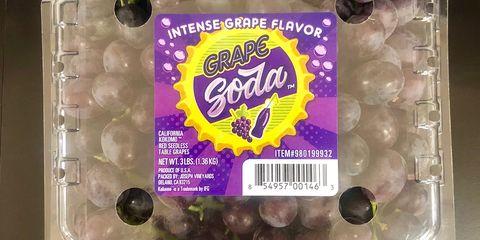 Purple, Grape, Food, Fruit, Plant, Vitis, Snack,