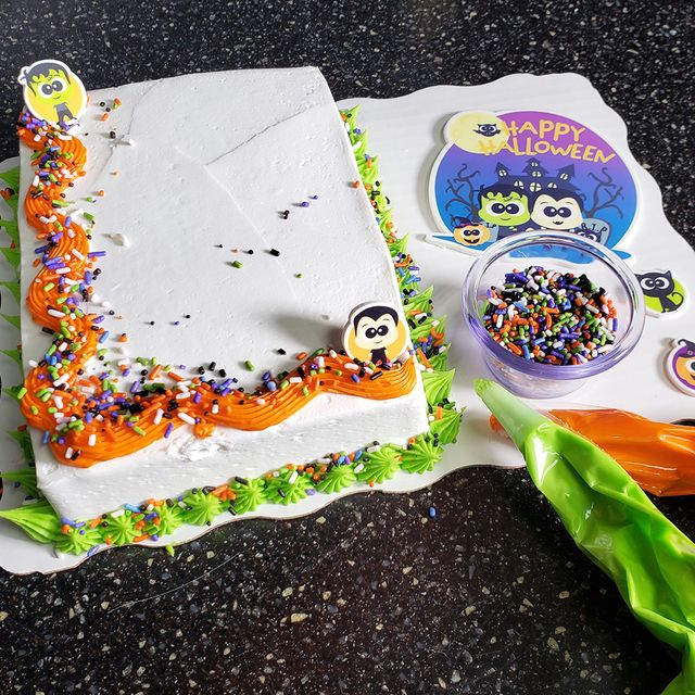 sam's club halloween cake decorating kit