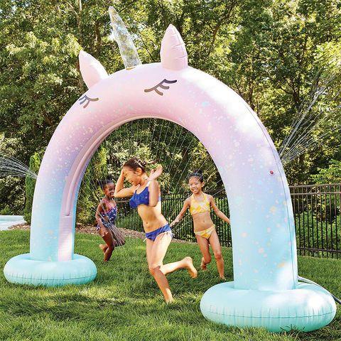 member's mark giant inflatable unicorn arch sprinkler from sam's club