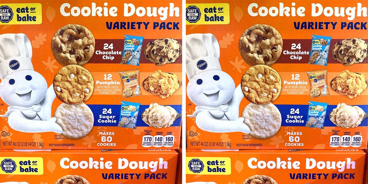 Sam's Club Is Selling A Giant Box Of Pillsbury Fall Cookie Dough With Three Varieties