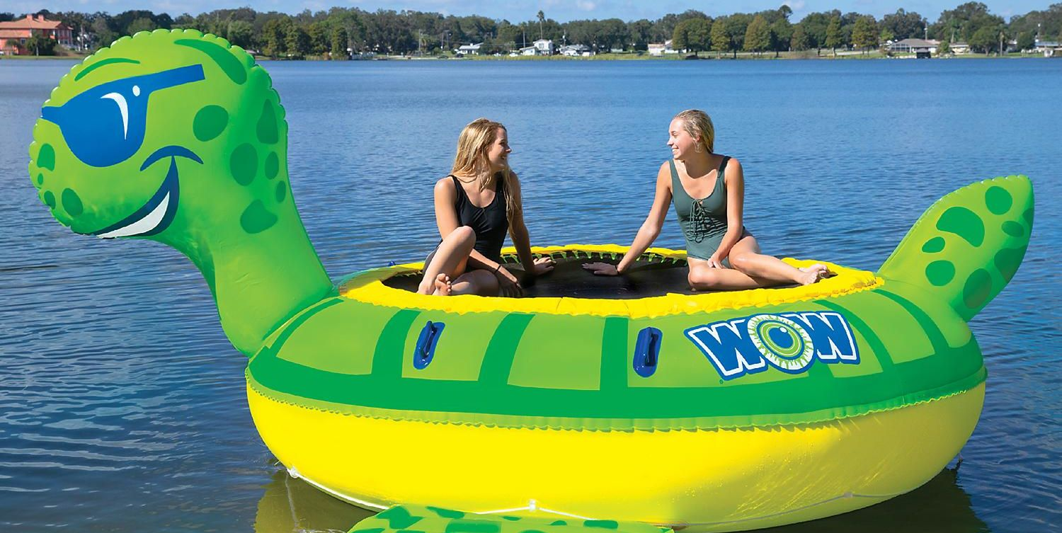PSA: Sam's Club Is Selling Giant Inflatable Water Trampolines