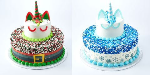 Enjoyable Sams Club Turned Its Unicorn Cake Into Santa Claus For The Funny Birthday Cards Online Alyptdamsfinfo