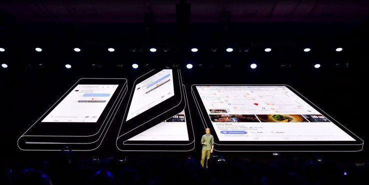 Samsung presenteert prototype van hun nieuwe opvouwbare smartphone
