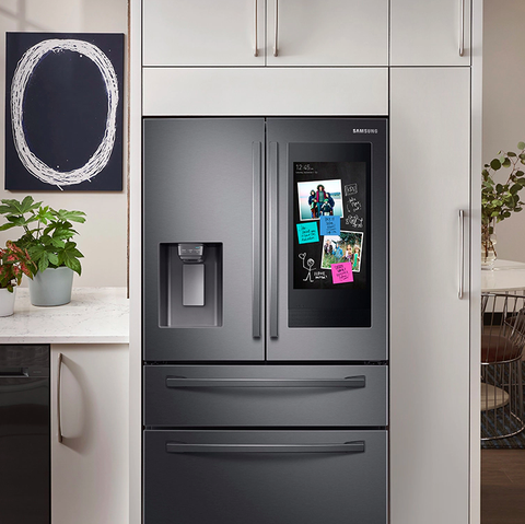 samsung smart fridge with family hub