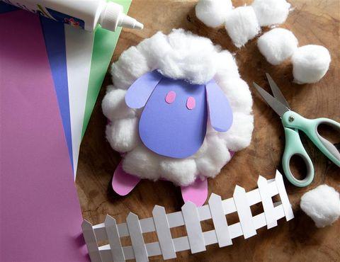 samuel and sons art kit sheep