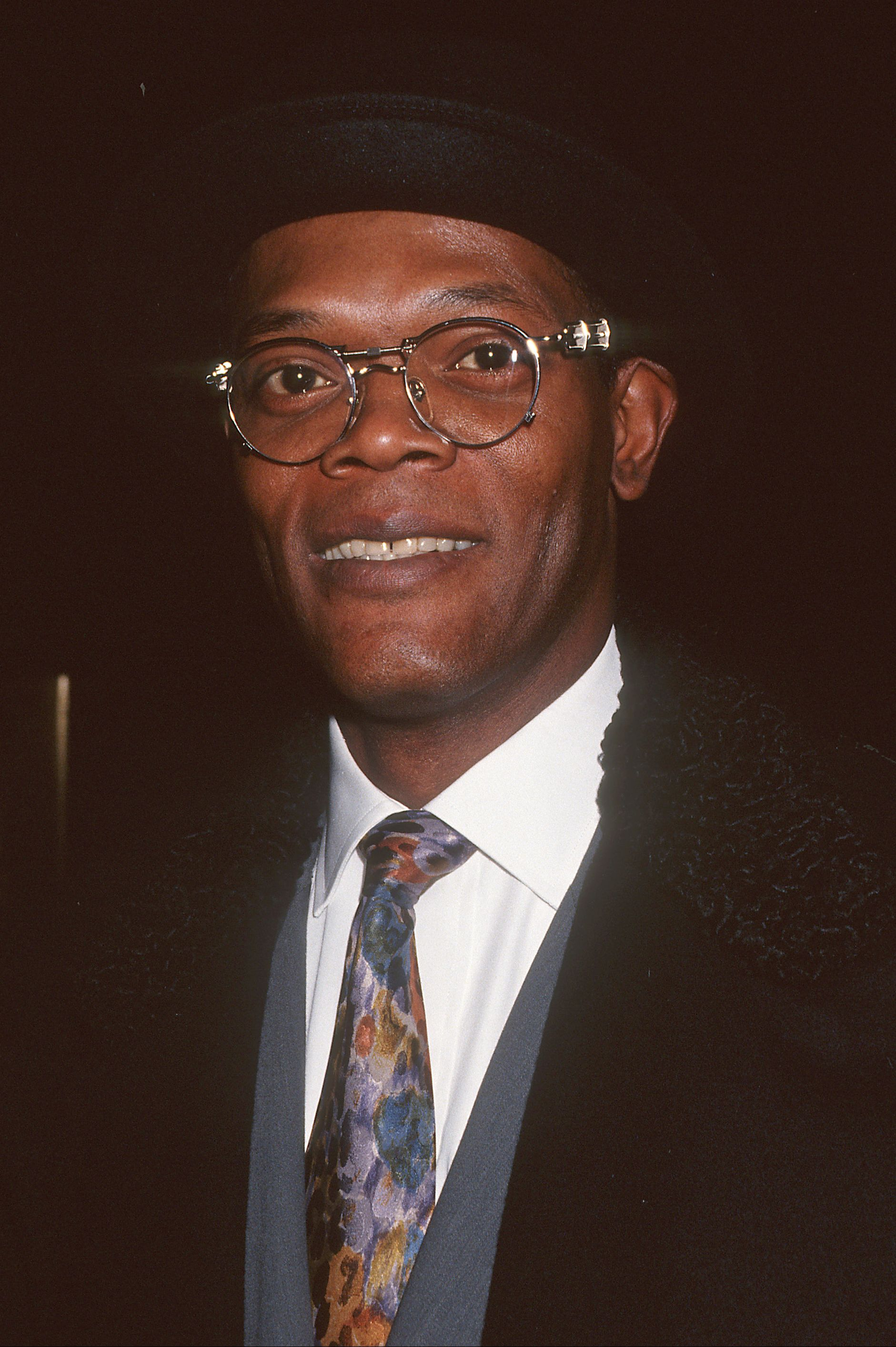 Samuel L. Jackson at 44 Jackson has appeared in more than 120 movies, which combined have earned $13.3 billion worldwide.