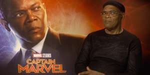 Samuel L Jackson Capitana Marvel