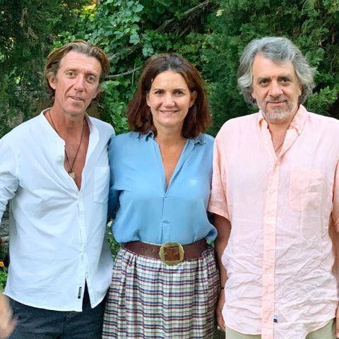 Colate visita a Samantha y Antonio Vallejo-Nájera