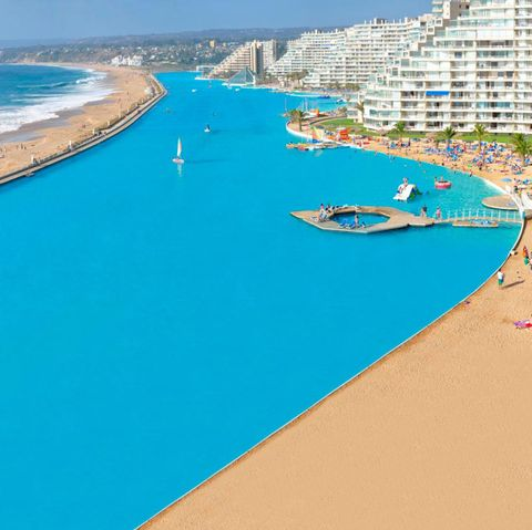 San Alfonso Del Mar Resort >> San Alfonso Del Mar Holds The Guinness Record For World S Biggest Pool