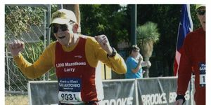 I Ran Marathoms Christmas San Antonio 2021 The Race For The Most Marathons In A Year Runner S World
