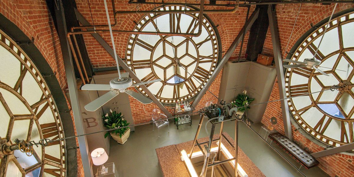 This San Francisco Penthouse Is Also A Clock Tower San