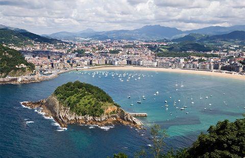 San Sebastián Donosti Playa de la Concha