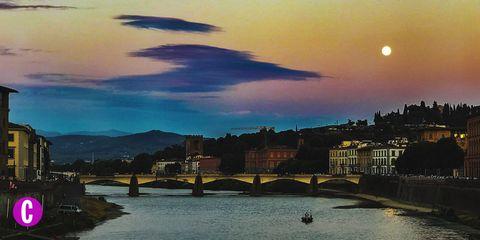 Una veduta di Firenze, Toscana