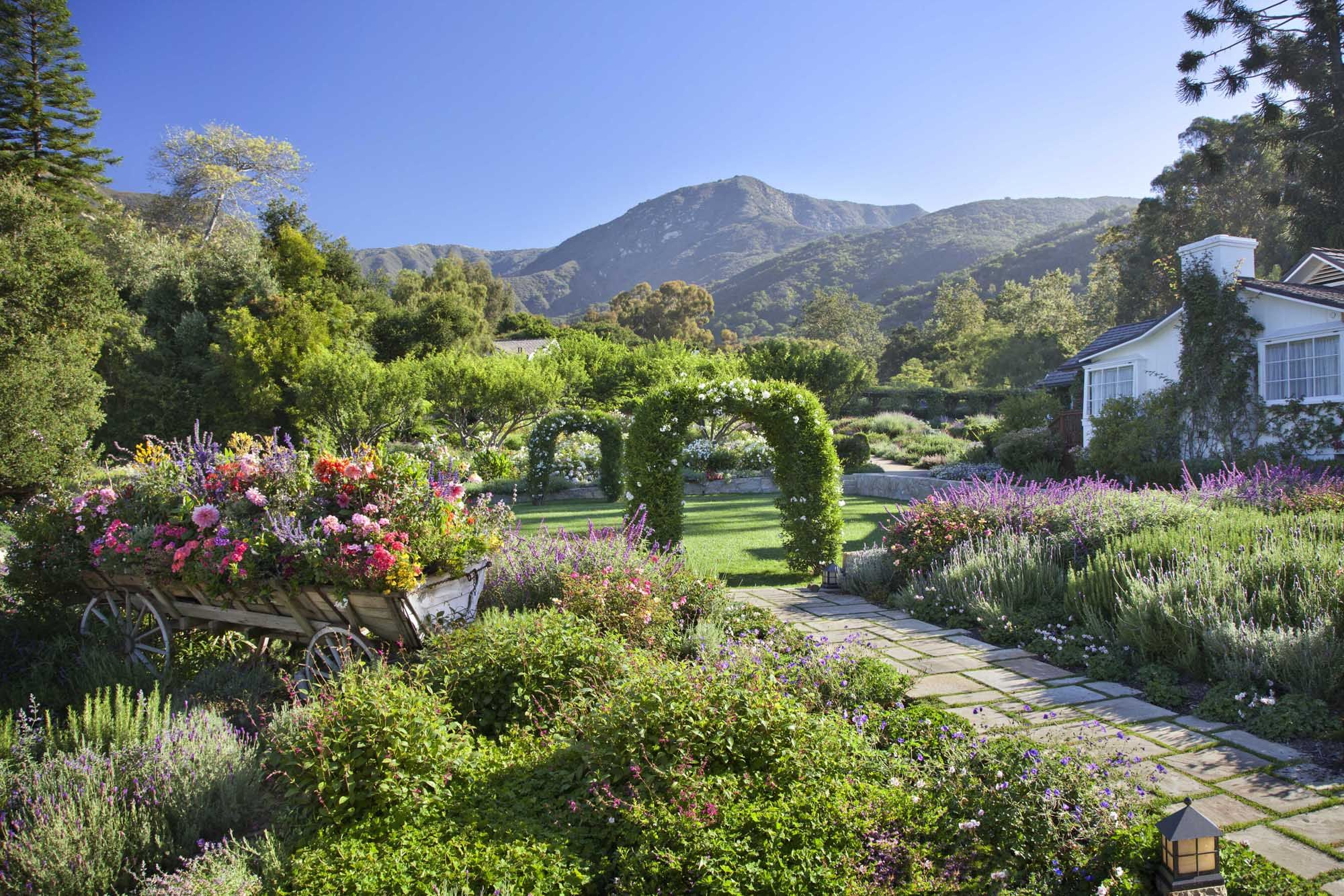 All About the San Ysidro Ranch, Where Chris Pratt and Katherine Schwarzenegger Got Married