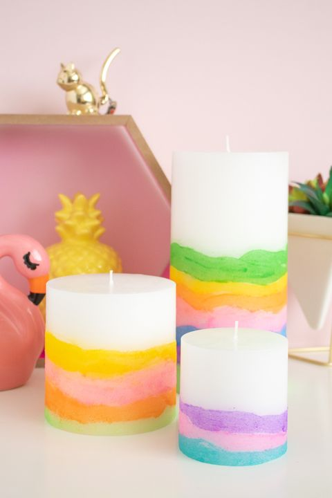 sand art candle mothers day craft