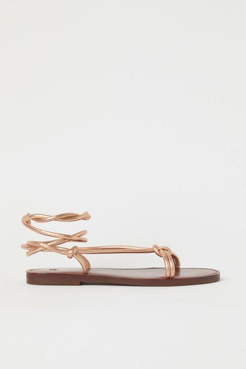 sandali bassi moda primavera estate 2021