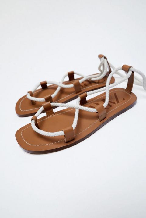sandali bassi zara estate 2021