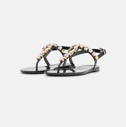 sandali estate 2021 neri shopping