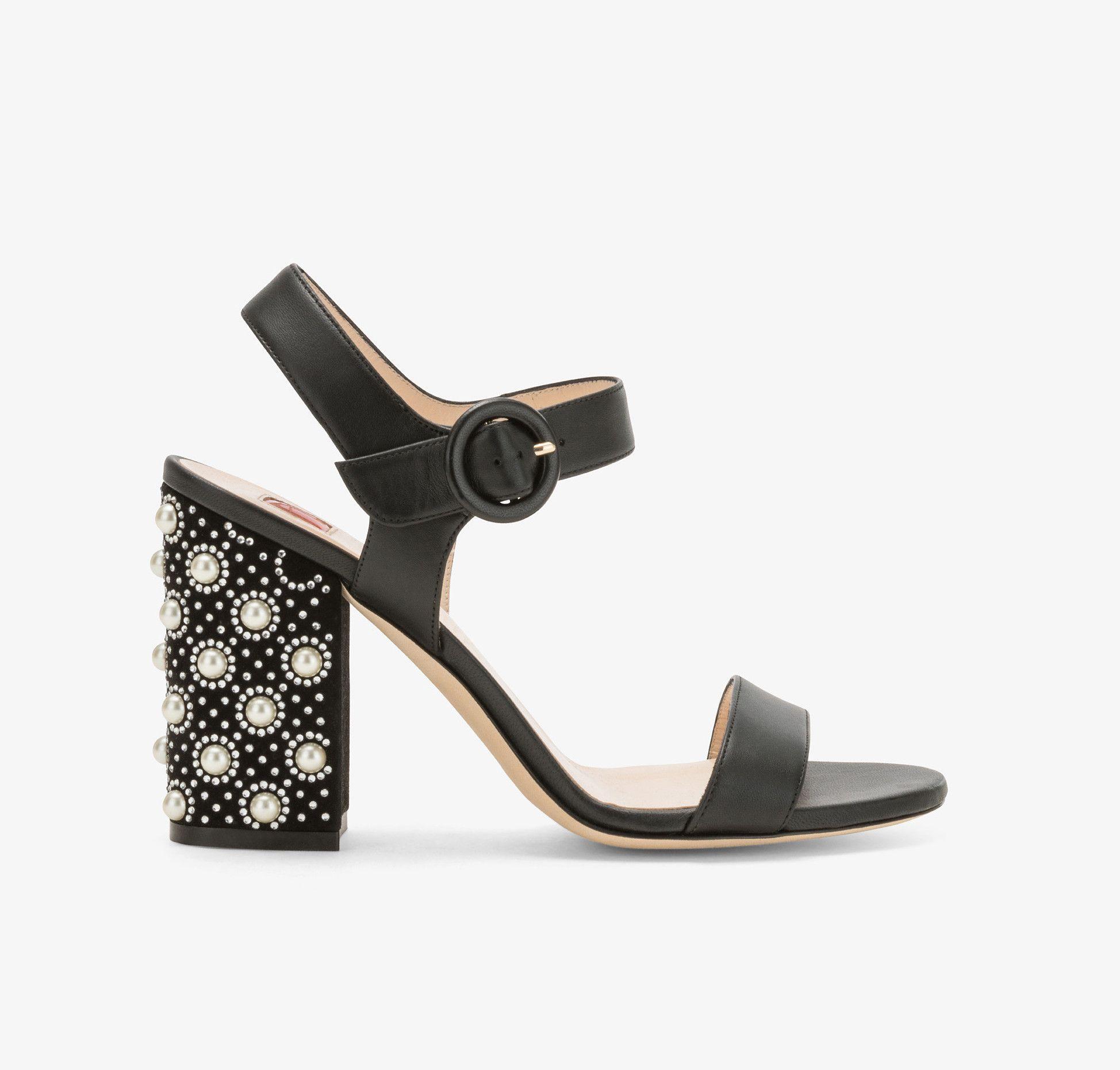 sandali gioiello con tacco eleganti estate 2018