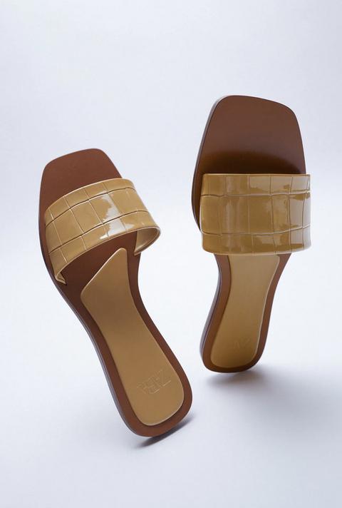 sandali zara moda primavera estate 2021