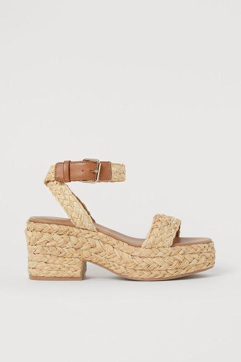 tendenza scarpe primavera estate 2021 sandali hm