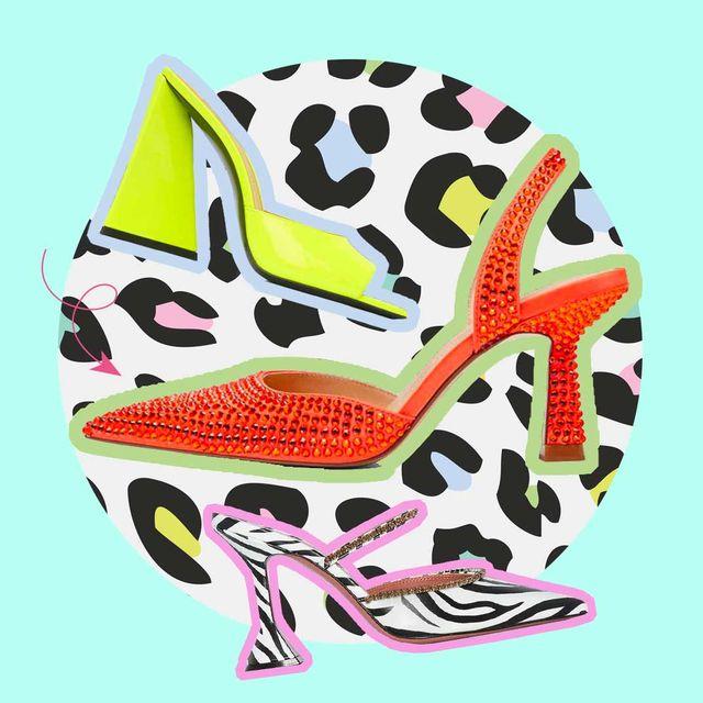 sandalias tacon colores tendencia