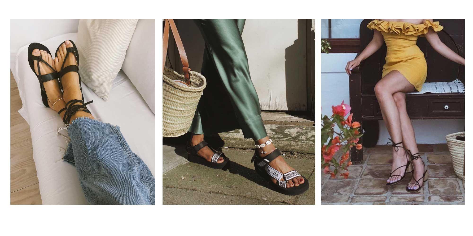 34b910262 Las tendencias en sandalias que vas a ver este verano - Sandalias de verano  2019