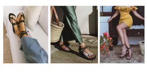 Sandalias de tendencia verano