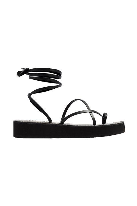 Topshop Fliss wrap sandals